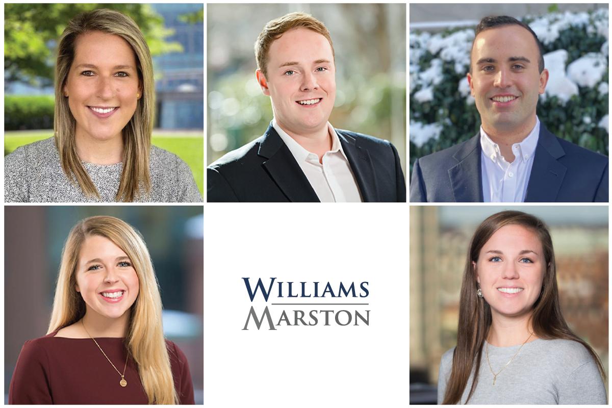 WilliamsMarston July Staff Update